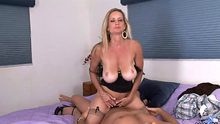 Cassy Torri plowed by a big dick