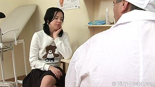 Gorgeous cutie Jessica gets fucked hard by her horny doctor