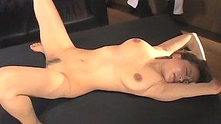 Horny Japanese chick in Amazing Fuck Machine JAV video