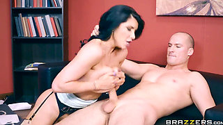 BigTitsAtWork Romi Rain Anal Audit
