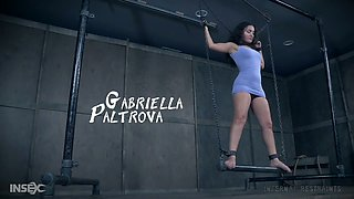 Dominant pervert uses various BDSM devices to impress Gabriella Paltrova