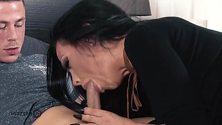 Smoking hot mom fucks her teacher