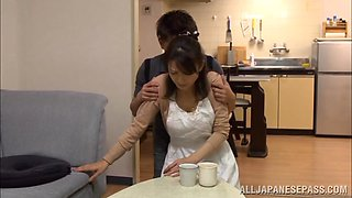 Eriko Miura mature and wild Asian nurse in position 69