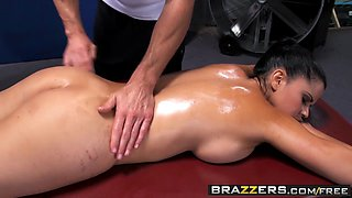 Brazzers - Dirty Masseur - Rookie Nookie scene starring Diamond Kitty and Johnny Sins