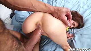 Girl punished and extreme destroyed Sally going on a Wild rail