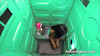 Do you think gloryhole when you see a portapotty