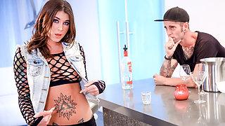 Felicity Feline & Gage Sin in Cum On My Tattoo - Felicity Feline - BurningAngel
