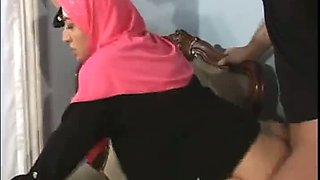 ARAB Muslim HIJAB Turbanli Girl FUCK
