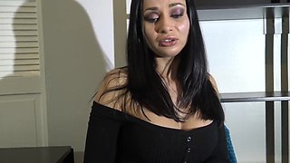 Boss Fingers Employee's Asshole and Cums on Face