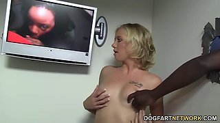 tracey sweet lost her gloryhole virginity with a bbc