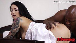 interracial creampie with bigass bride katrina jade and bbc