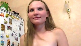 Petite Russian hooker with small breasts is showing off her naked body