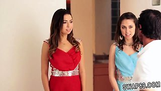 Dad gives ally' companion's daughter kitchen Prom Night