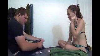 Hot amateur college girl not step sister fucks her not step brother