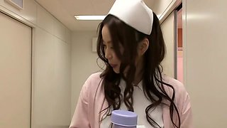 Crazy Japanese whore in Best Masturbation, Nurse JAV clip