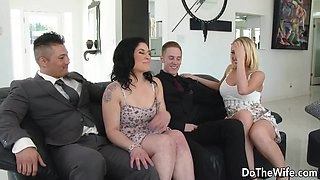 Amateur housewife attempts swinging 1