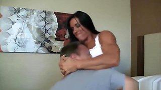wrestling - scharfes fitness girl