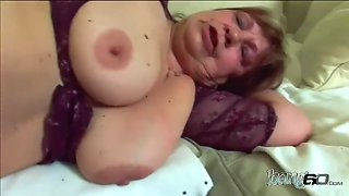 Most brutal gilf got annihilated by young dick