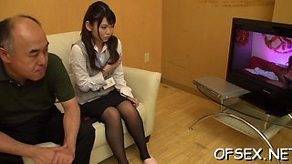 office sex turns her on video movie 1