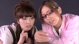 Best Japanese model in Amazing Teens, Handjob JAV scene