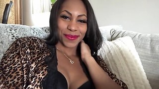 ASMR - Kissing You - Black Stockings - EbonyLovers