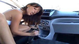 german slut fuck her car