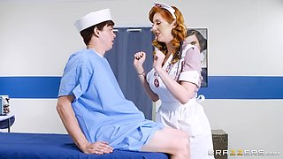 Being a nurse and sucking a dick is what for Lauren Phillips is all about