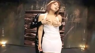 Busty Asian babe dominated during hardcore bdsm