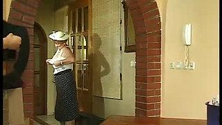 Hungarian Granny fucked hard