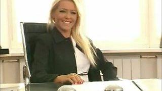 Exotic homemade Lesbian, Secretary porn movie