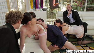 Hot Sex - Sovereign Syre & Valentina Nappi & Dana DeArmond & James Deen