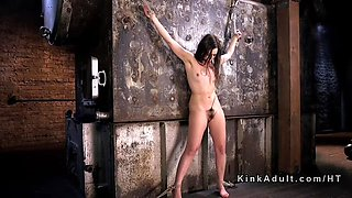 petite slave anal hooked and vibed