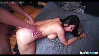 big oiled up latina booty