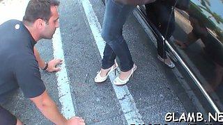 mistress grinds slaves balls fetish movie 2