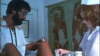Kinky gyno doctor examines hairy snatch of one lustful patient