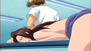 Beautiful Anime Futanari Anal Creampie