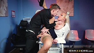 Kayla Green & Danny D in Tits Thighs And Office Supplies - BrazzersNetwork