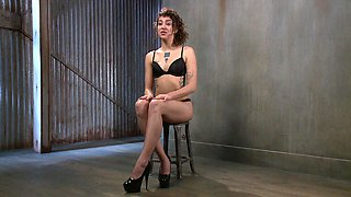 Chick Becomes Sex Slave in Bondage Video