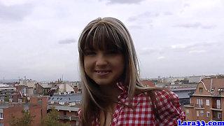 Femdom schoolgirl spanks glamcore euro milf