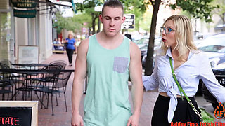 ASHLEY FIRES HOT MOM and SON