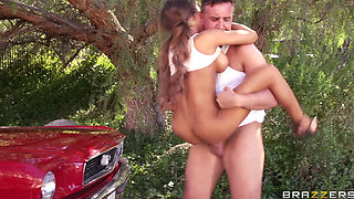 Madison Ivy - Romantic Sex Outdoors