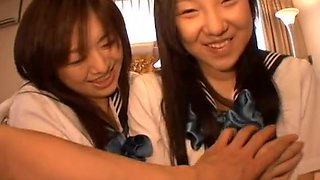 94 jpn threesome schoolgirls