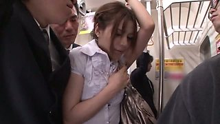 Rio The Japanese Cutie Likes To Be Ridden In Public