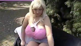 Big tits Smoking Milf