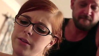 Daddy Teaches Redheaded Step Daughter All About Anal   Pornhubcom