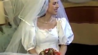 Hairy bride fucking and fisting
