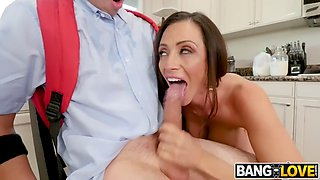 Ariella ferrera in milk from neighbour