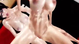 3d hot animation big boobs hardsex