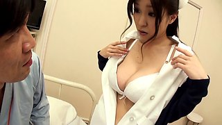 Miina Kanno finally gets to ride a cock while her big tits bounce