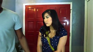Japanese babe buttfucked with bbc